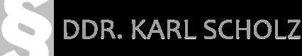Rechtsanwalt DDr. Karl Scholz